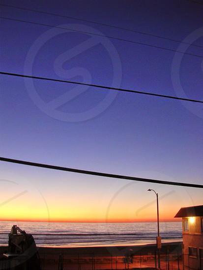 Sunset San Diego Mission Beach photo