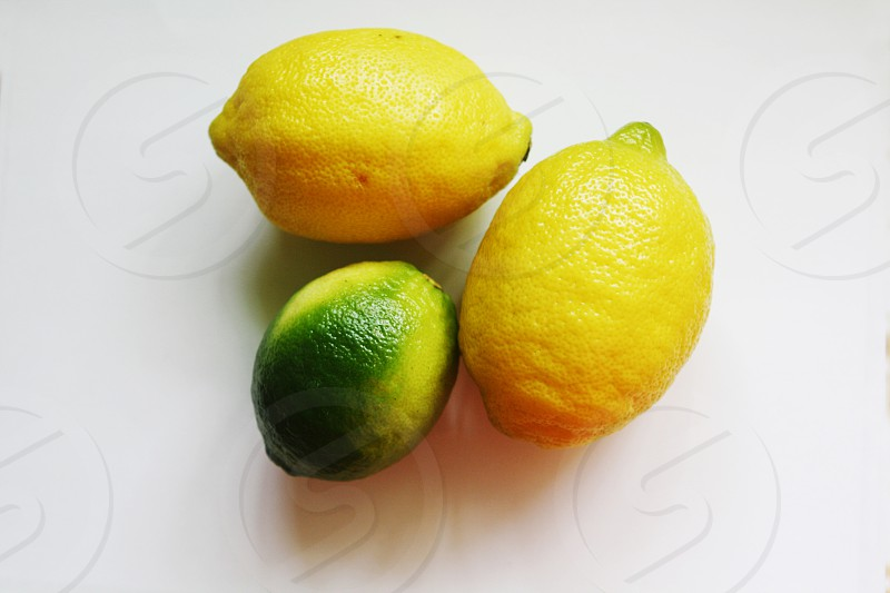 Lemon's and limes photo
