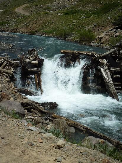 Broken dam photo