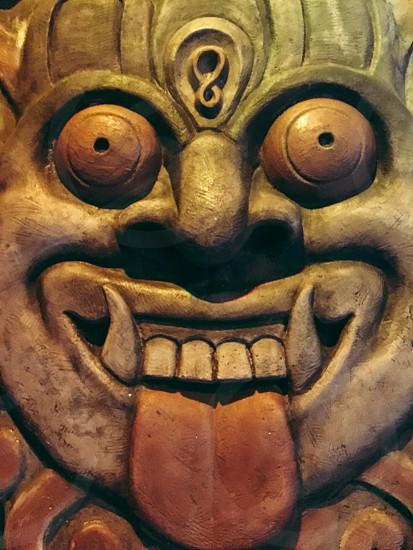 Crazy face photo