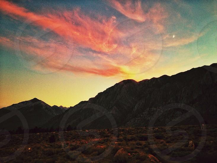 Sunset in Yosemite photo
