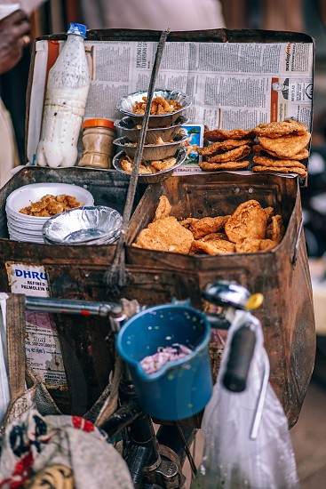Indian street food. photo