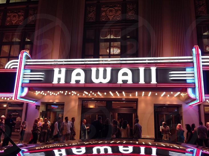 Hawaii Theater Honolulu Hawaii 2014 photo