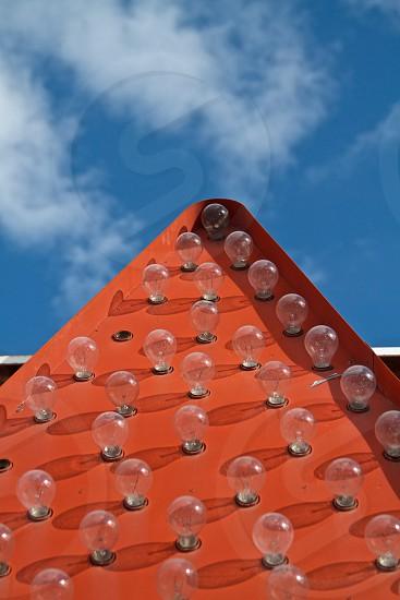 light bulb pyramid photo
