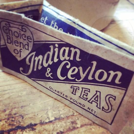 choice blend of indian & ceylon teas choice photo