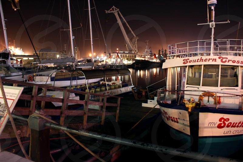 white southern cross ship  photo