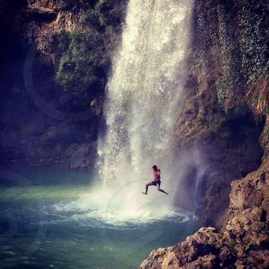 Sajikot Waterfall Aboottabad Pakistan photo