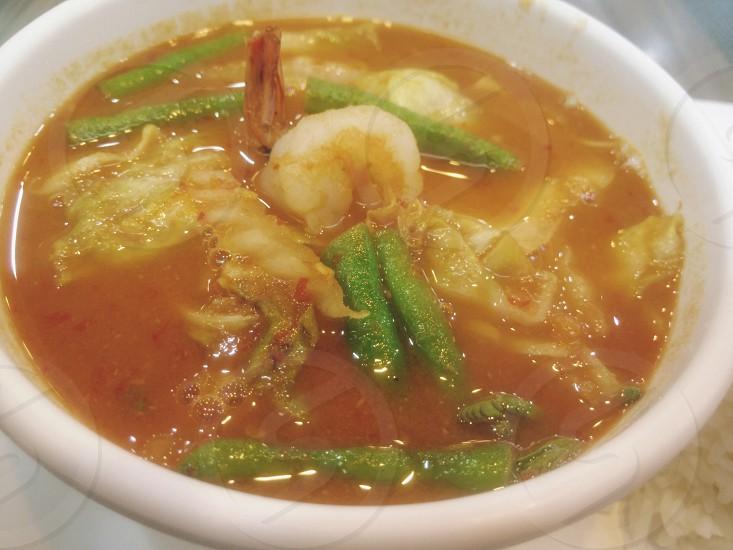 orange curry ...Thaifood photo