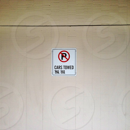 No Parking photo