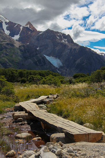 On the Fitz Roy Trail near El Chalten Patagonia Argentina photo