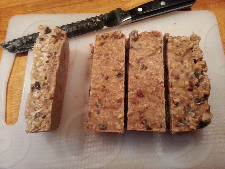 Yummy and Healthy Paleo Energy Bars photo