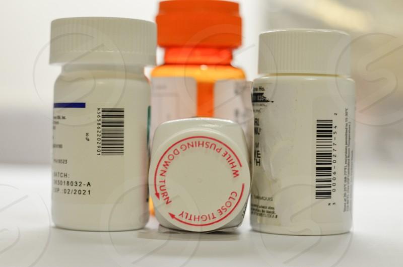 Medical pills for healing photo