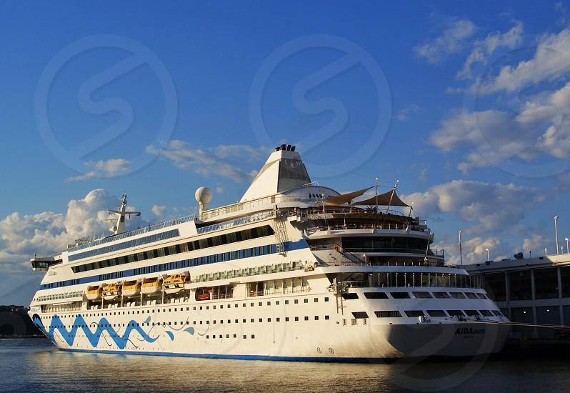 luxury cruise liner photo