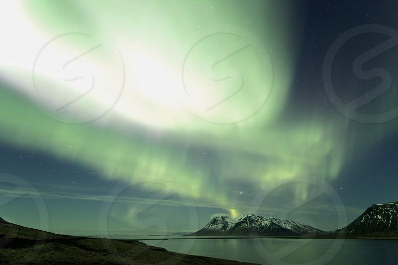 Aurora borealis - Northern lights - Iceland photo