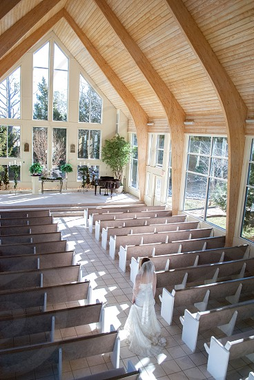 Wedding; dress; light; venue; Oklahoma City; Oklahoma  photo
