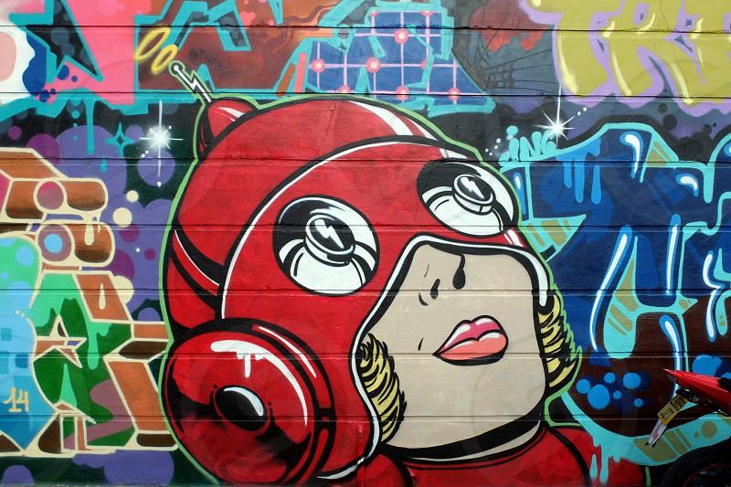 Street Art in London photo