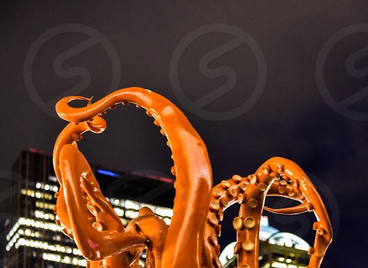 Kraken attack Halloween tentacles monster photo
