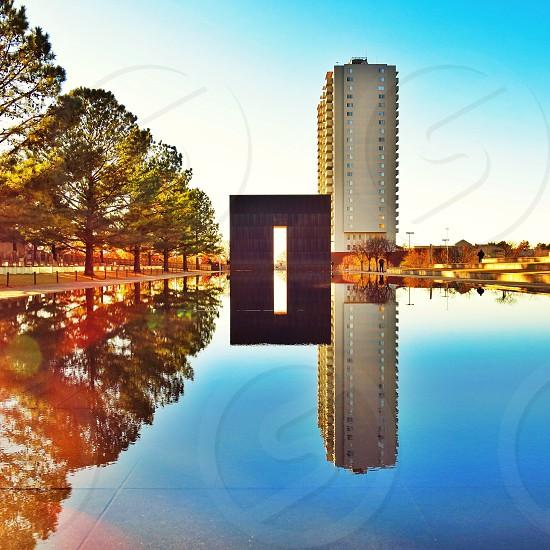The Oklahoma City Bombing Memorial.   photo
