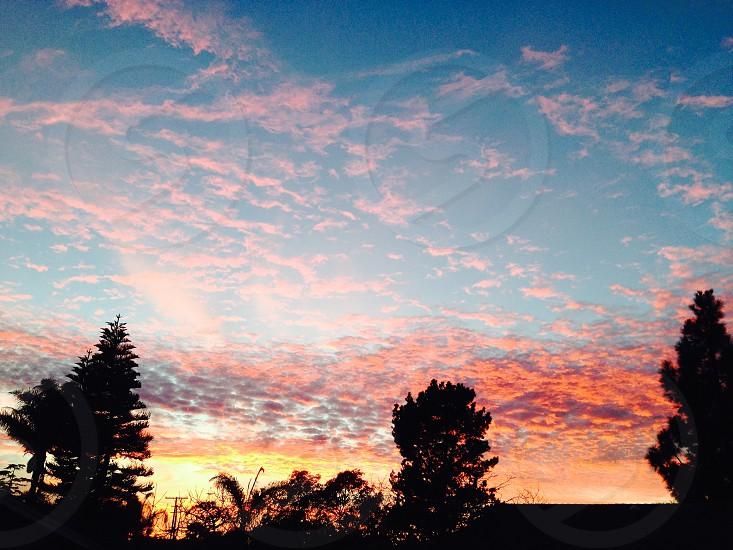 Santa Barbara sunset photo