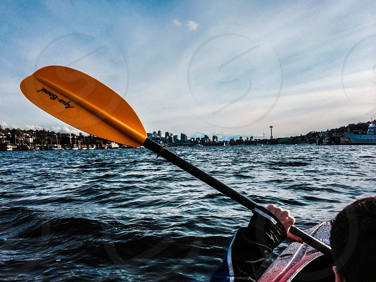 Kayaking hobbies  photo