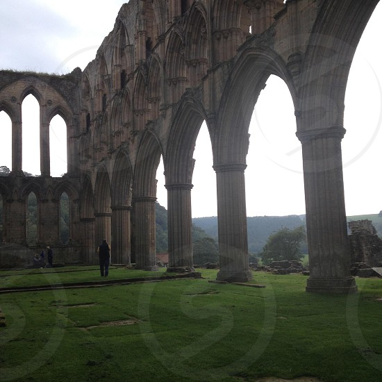 Rievaulx Abbey North Yorkshire  photo