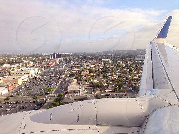 Landing at LAX photo