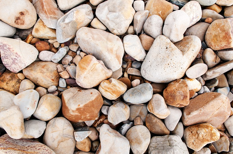Brown stones background. photo