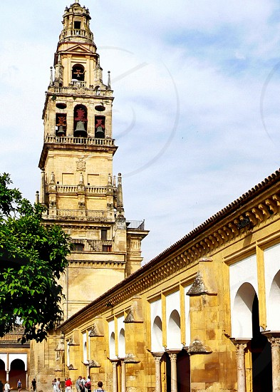 A renaissance cathedral inserted In the most accomplished Moorish architecture. Cordoba Spain. photo