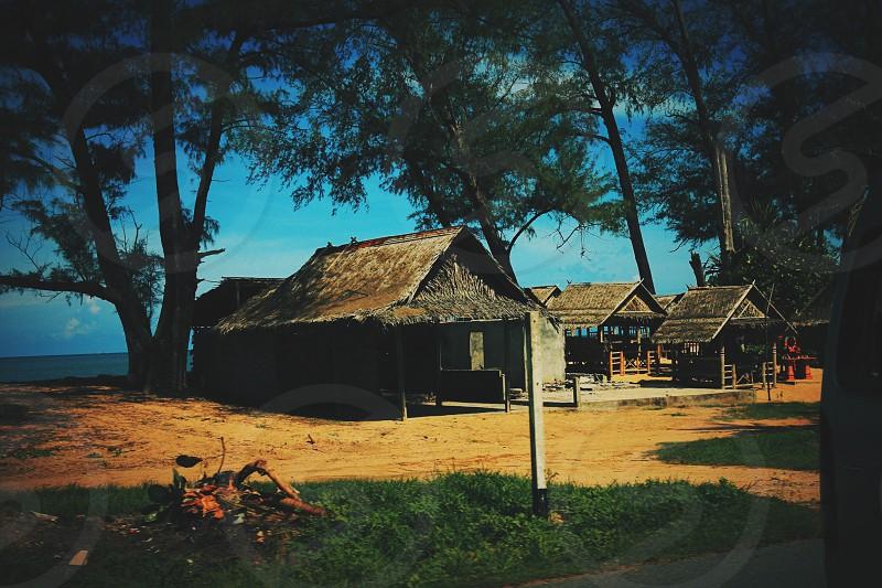 Thai house - Phuket Thailand  photo