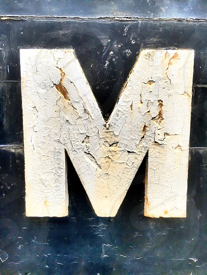 The letter m photo