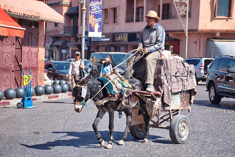Streets of Marrakesh photo