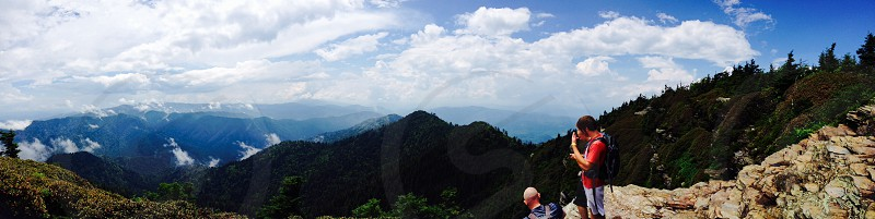 On top of Mt. Leconte photo