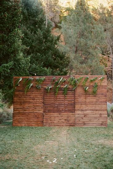 backdrop weddings ceremony simplicity photo