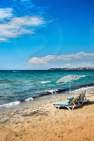 Beach Blue Sky Chill Sea Vacation Holidays Clouds photo