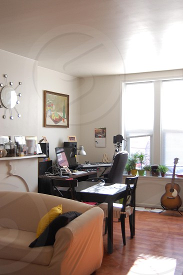 trendy living room  photo