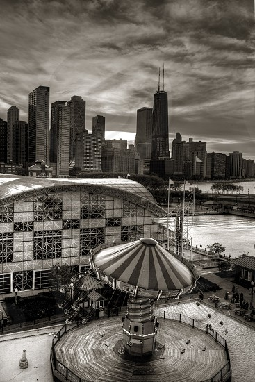 Chicago from Navy Pier  photo