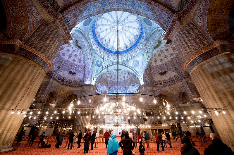 Blue Mosque Istanbul Turkey photo