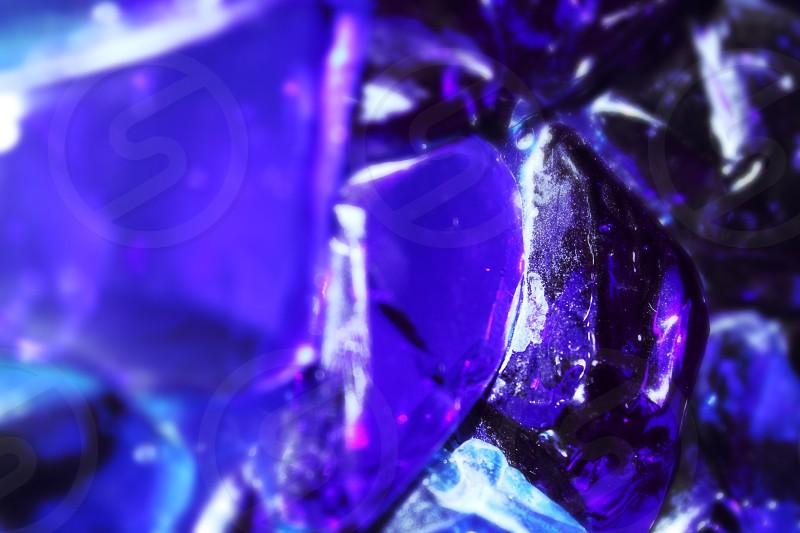 purple and black stone details photo