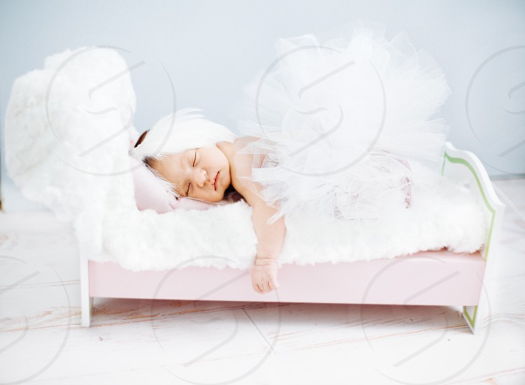 8 days old baby Ballerina  photo