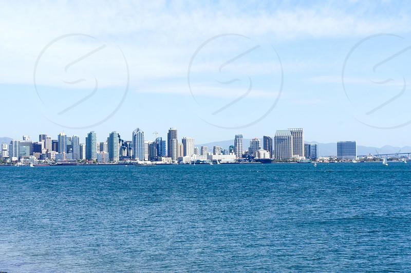 San Diego Bay and skyline photo
