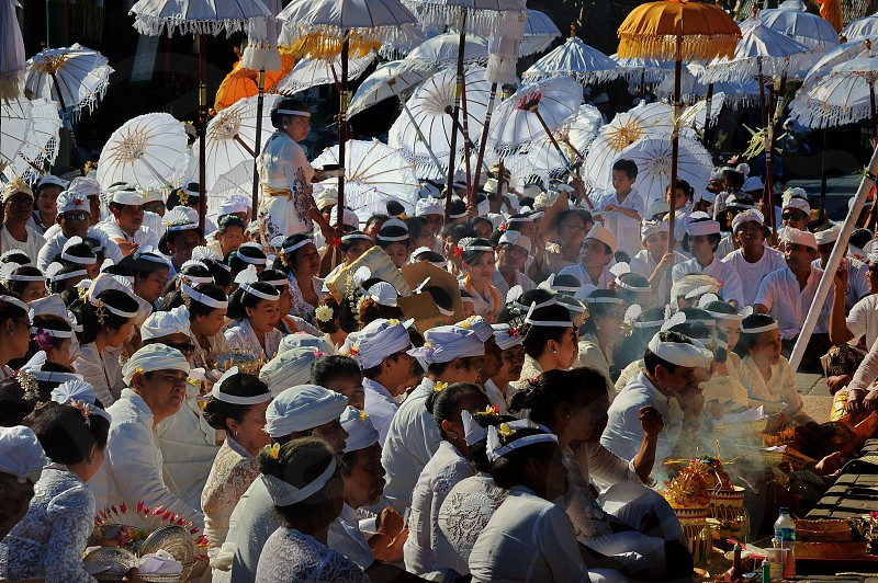 Bali traditional ceremony photo