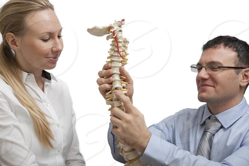 Chiropractic chiropractor spine photo