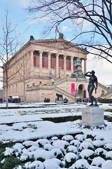 The Alte Nationalgalerie museum in Berlin Germany photo