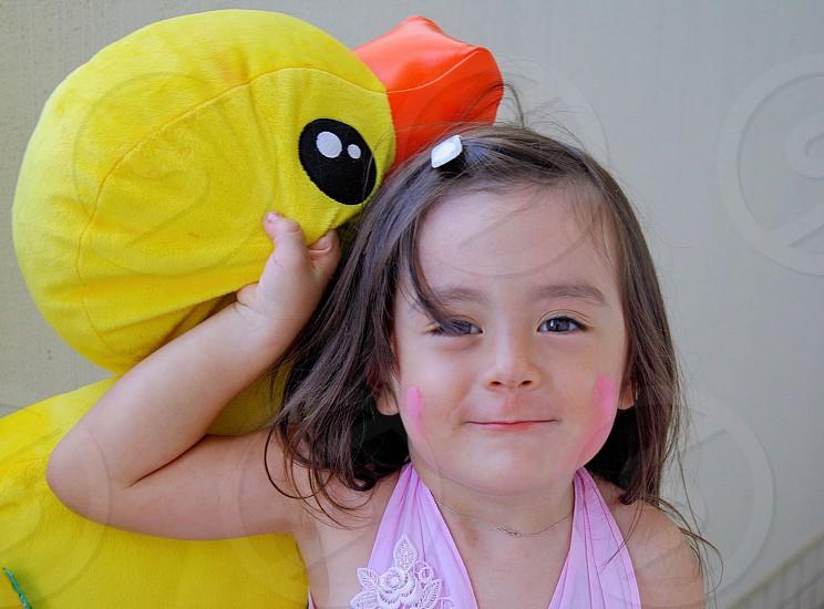 My daughter  being naughty. Nikon D90 18-105mm. Kuala lumpur.  photo