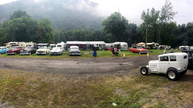 Hotrods and camping. CumberlandMDLabor Day Weekend. 2014 photo