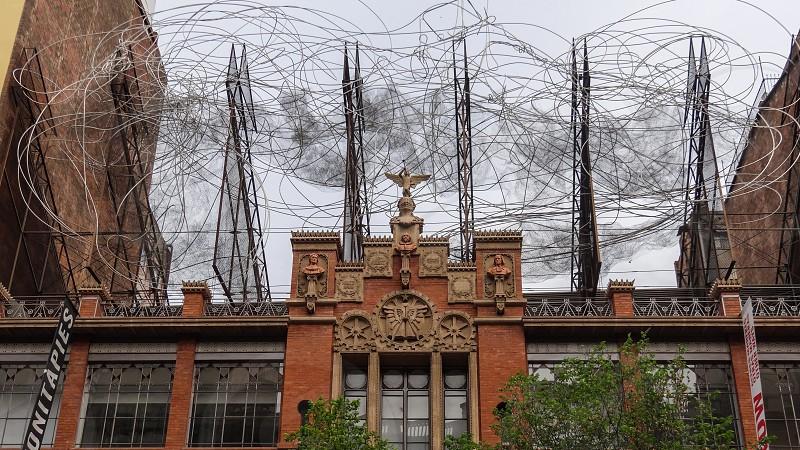 Fundació Antoni Tápies - Barcelona Spain. photo