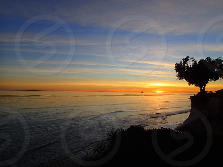 A Santa Barbara sunset  photo