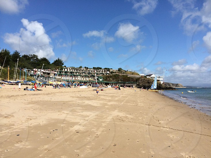 Abersoch beach photo