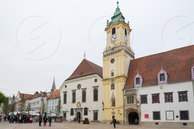 Old town Hall in Bratislava Slovakia photo