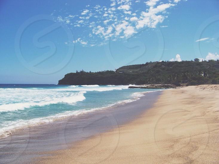 ocean shore  photo